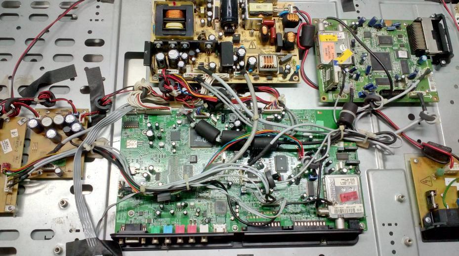 Ремонт LCD телевизора Houstons.com.ua