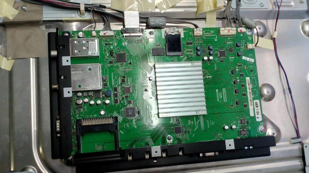 Главная плата QPWBXF455WJZZ F455WE12