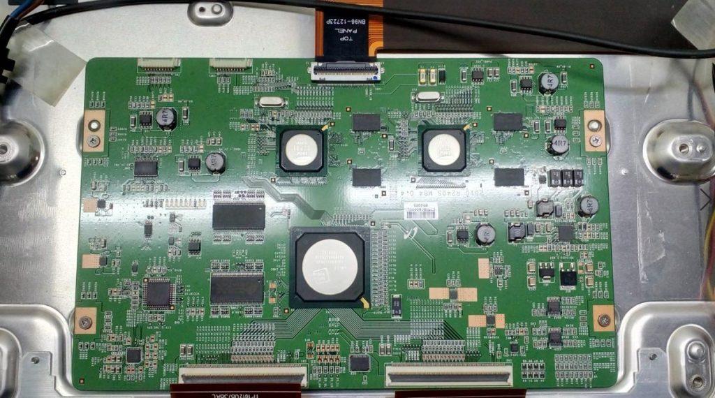 Ремонт Samsung UE40C7000 t-con 2010 R240S MB4 0.4