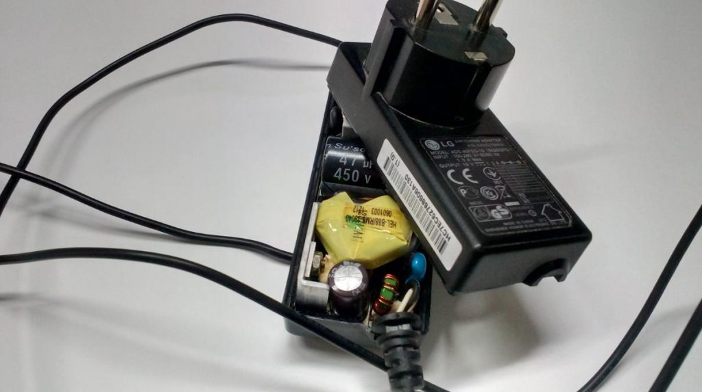 Ремонт блока питания ADS-40FSG-19