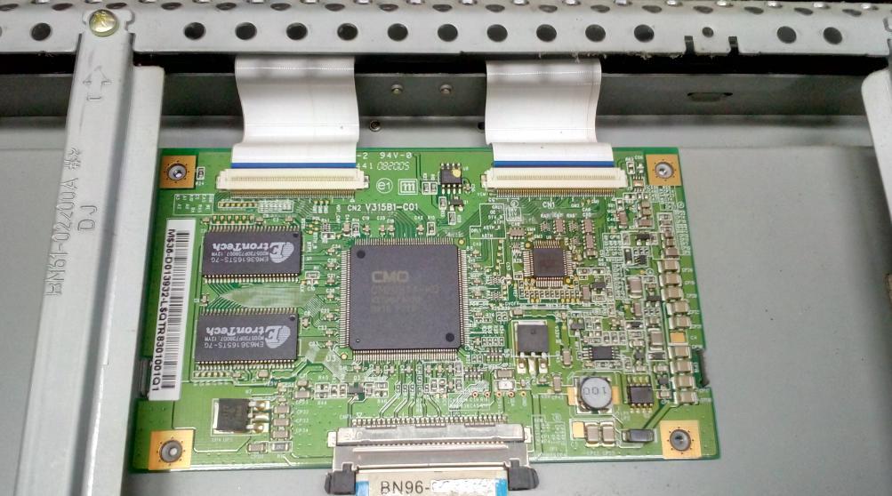 Ремонт платы T-con V315B1-C01
