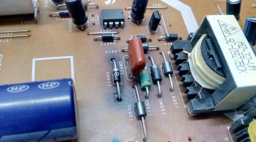 Не работает блок питания BN44-00289B Samsung LE32B350