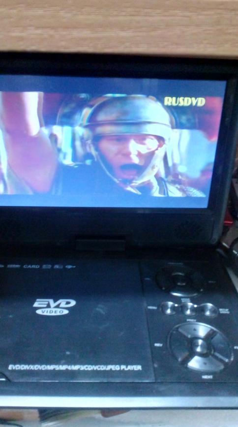 Ремонт портативного DVD плеера