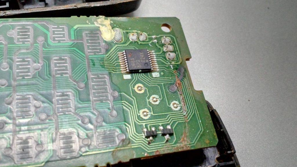 Восстановление пульта bbm790102b от Pioneer XV-DV360