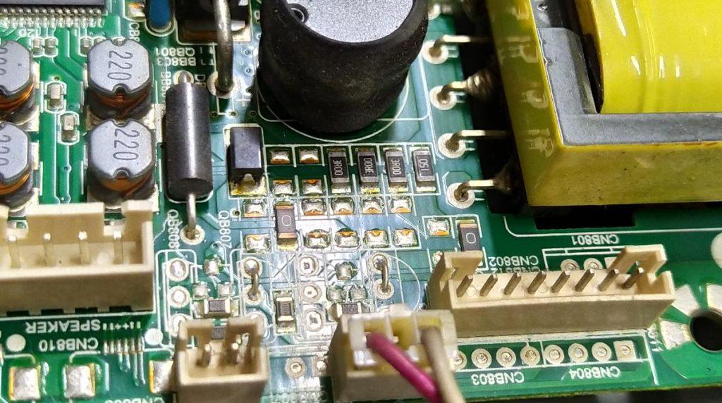 Доработка подсветки TP.VST59S.P89