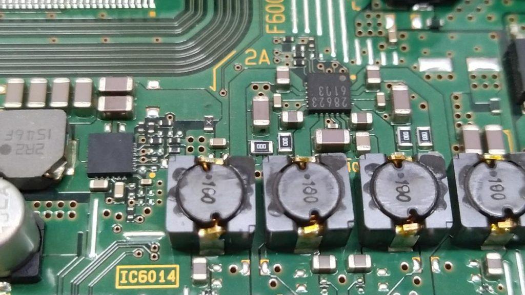Обвязка IC6014 на плате 1-980-335-12