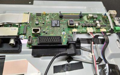 Ремонт Sony KDL-49WD755 нет изображения