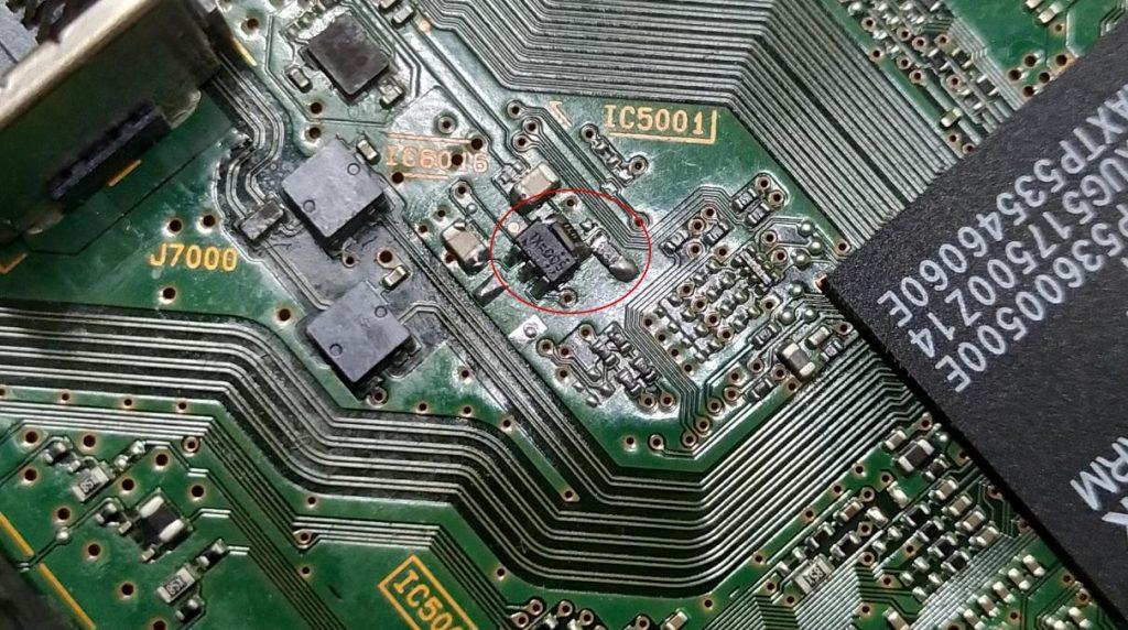 Замена 91162 на RT9043 с доработкой