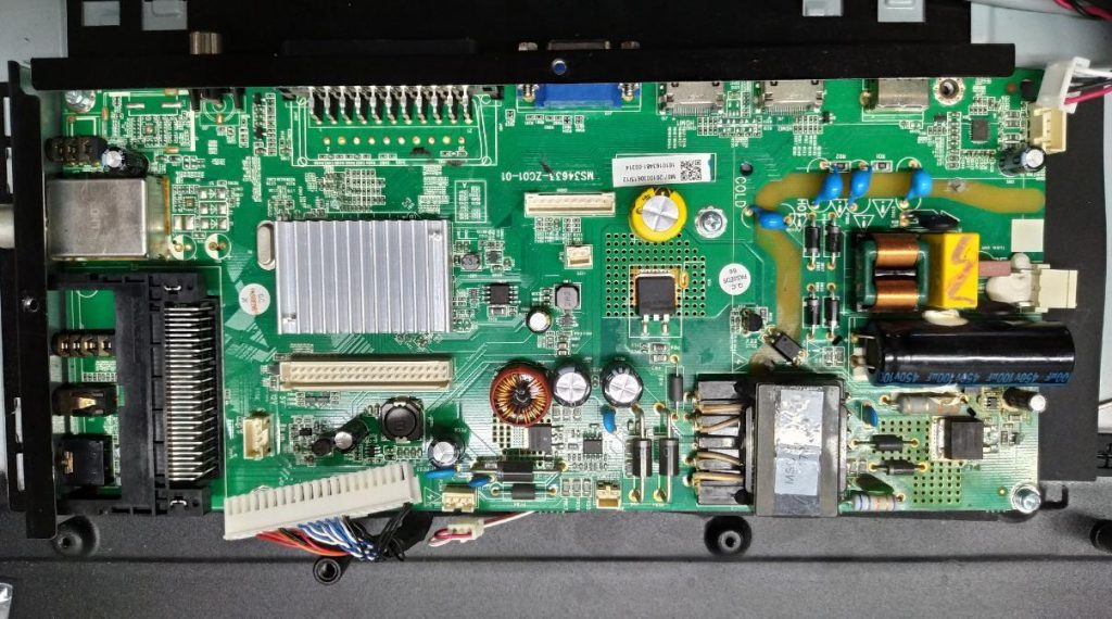 Телевизор Kivi 32HK206 не включается