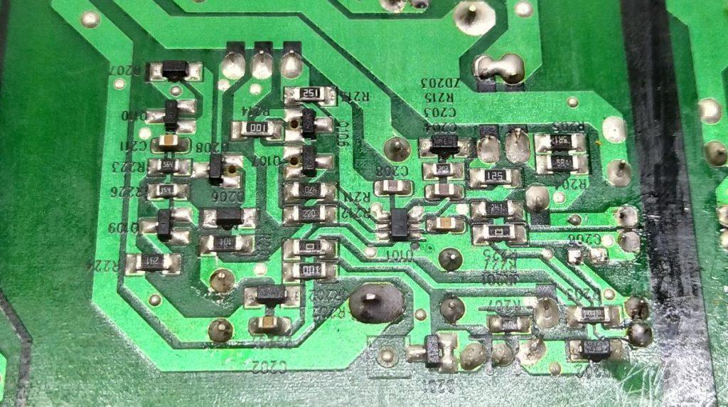Не работает блок питания HSS30D-2M9 XR7.820.203V1.2