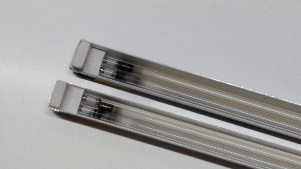 Неисправны лампы подсветки Wizard QN-170VD