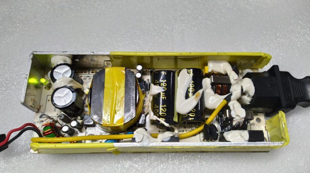 Отключается блок питания XVE-8400150 INMOTION