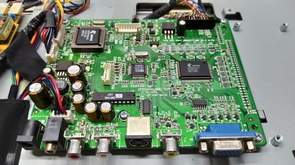 Скаллер PCB FR4 S5aV 68521-7180 V0.2