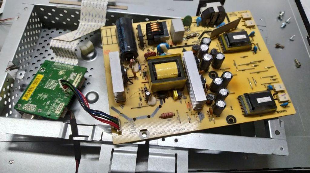 Ремонт блока питания LG W2234S