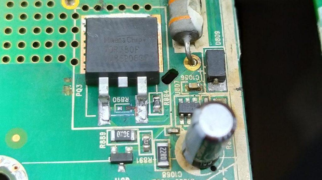 Ремонт платы MS43633-ZC01-01