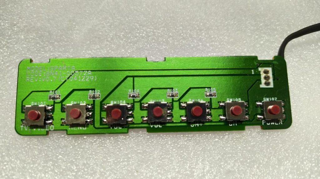 Замена кнопок BN41-00572A Samsung LE20S52BP