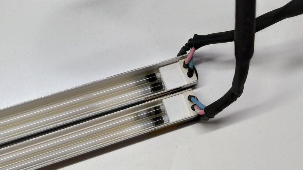 Замена ламп в мониторе Wizard QN-170VD
