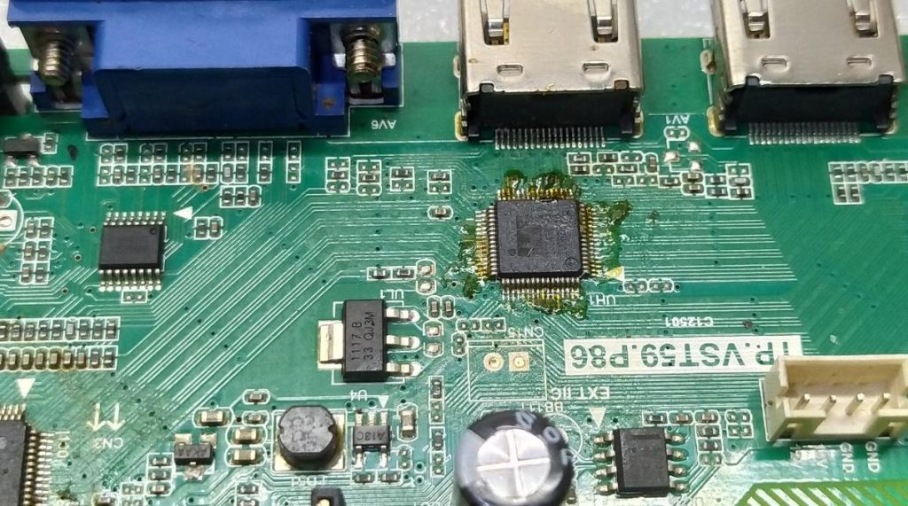 Не работает Bravis LED-DB3200BH