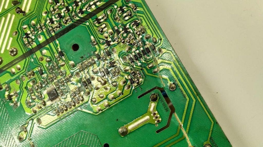 Ремонт блока питания PLHL-T605A T606A фото 2