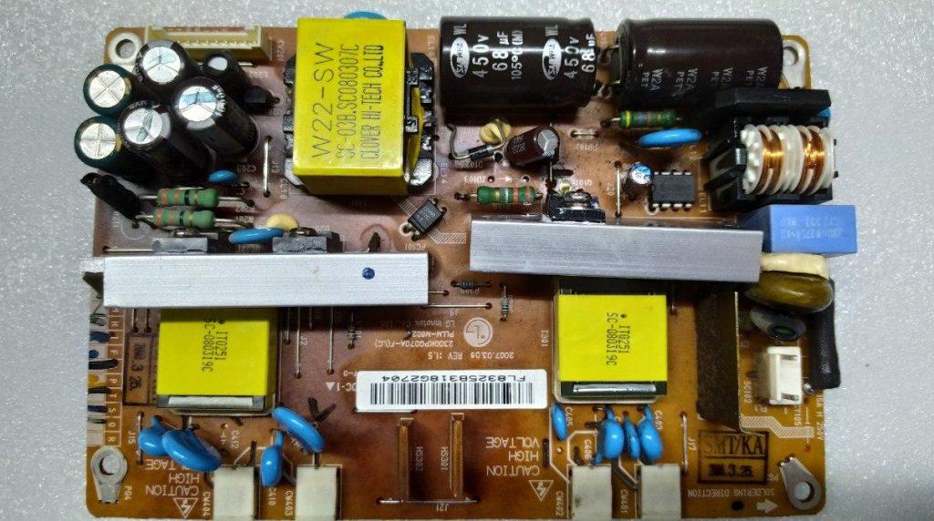 Не включается LG M228WA