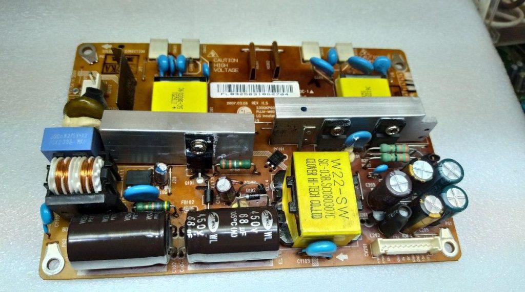 Ремонт блока питания PLLM-M602A