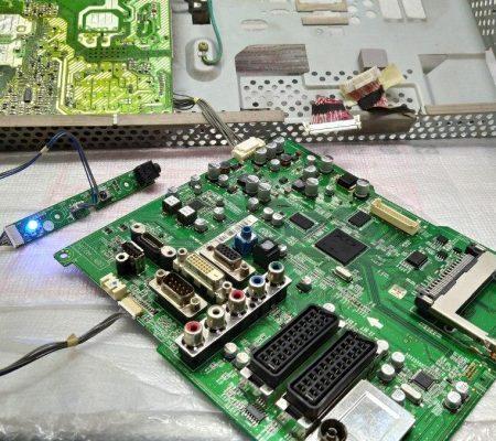 LG M237WDL не включается ремонт