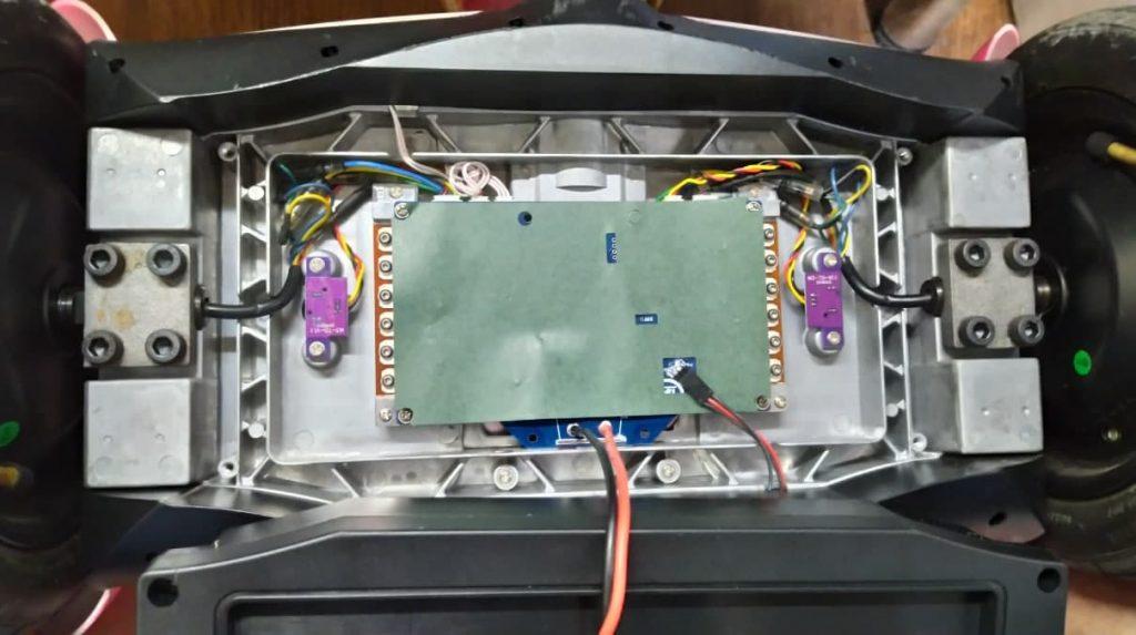 Гироборд Rover Mini N3 разобранный