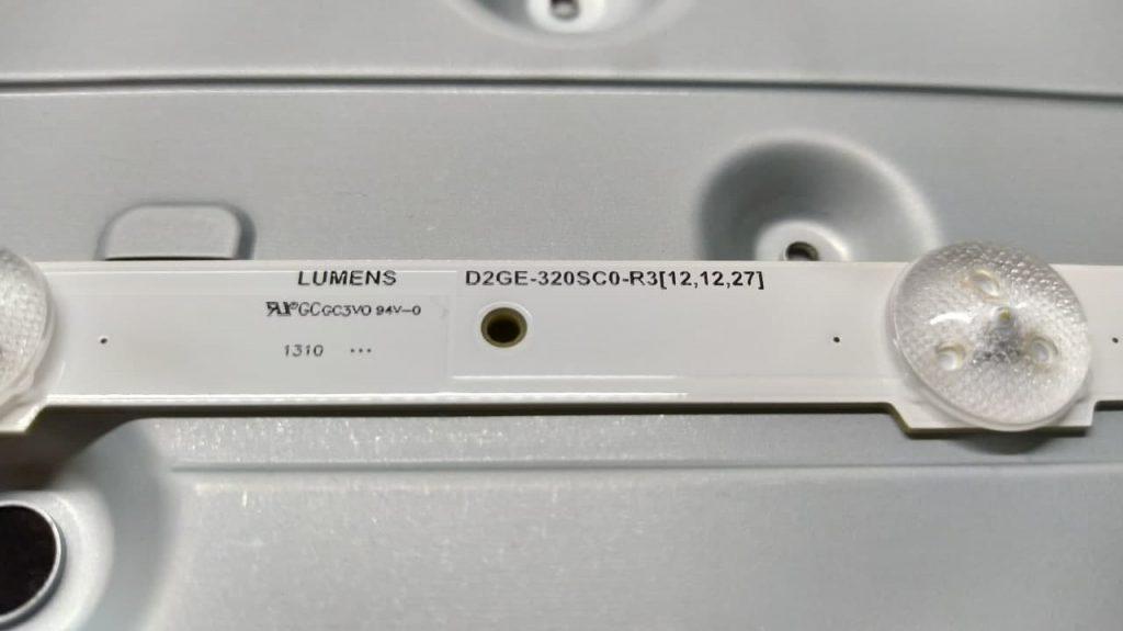 Планка LED подсветки D2GE-320SC0-R3