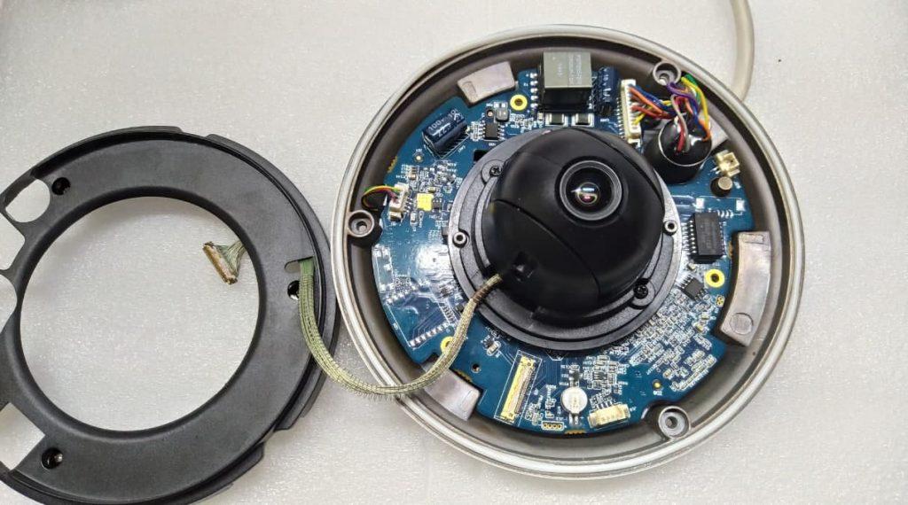 Ремонт IP камеры Dahua Tech