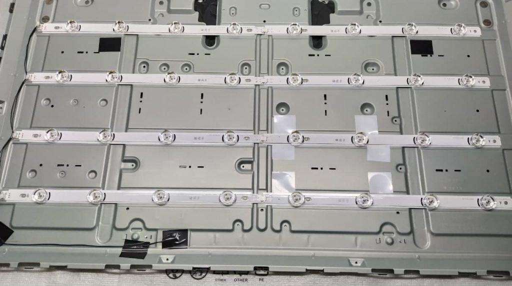 Замена подсветки телевизора LG 42LB552V