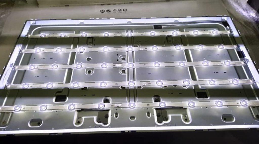 Замена подсветки в LG 49LF640V