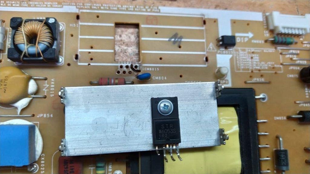 Ремонт блока питания Samsung UE32D4003BV
