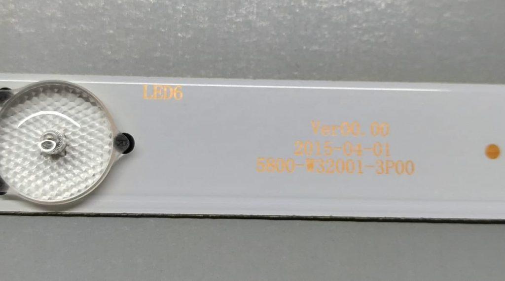 Планки подсветки 5800-W32001-3P00
