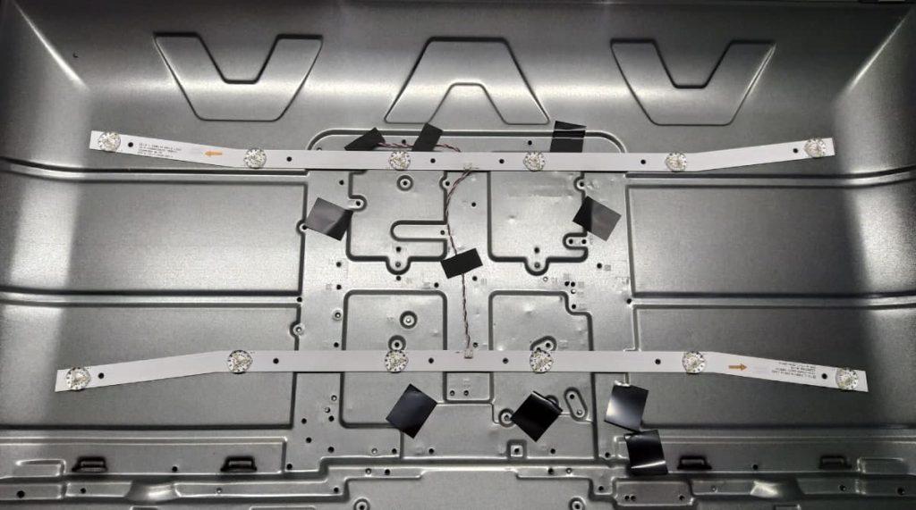 Замена подсветки в телевизоре Comer E32DM1100