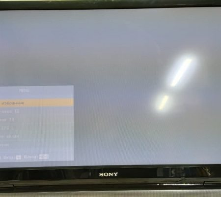 Блеклое изображение Sony KDL-37V4000