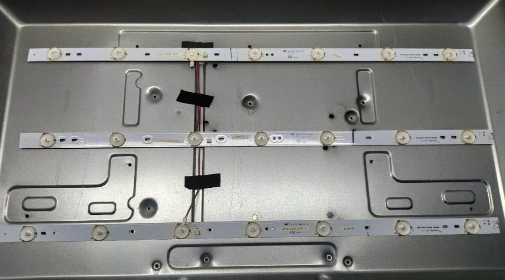 Ремонт подсветки Bravis LED-28B1000