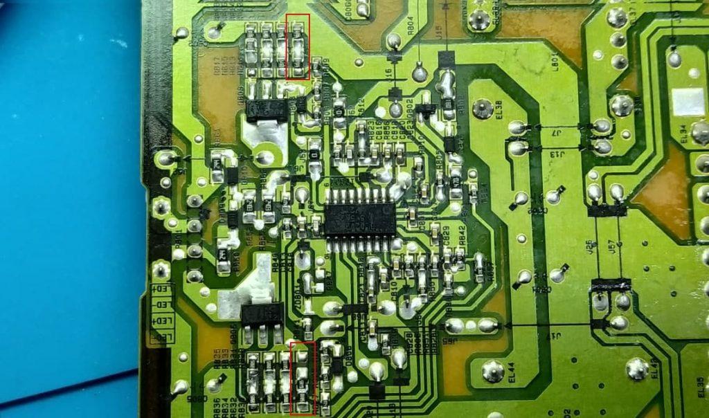 Доработка уменьшить ток EAX66203101