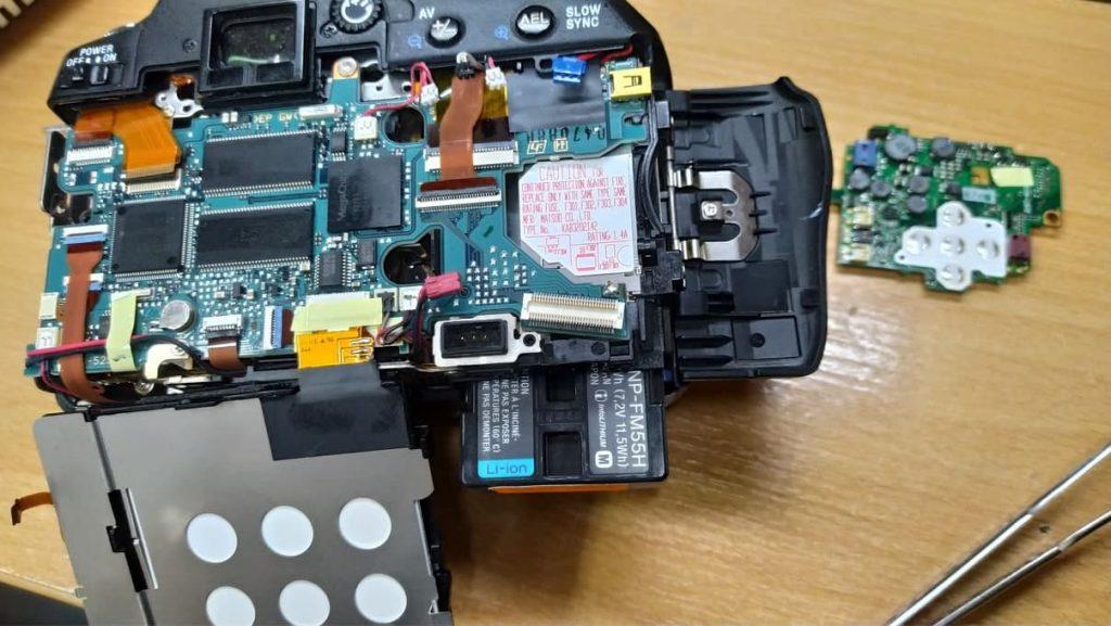 Ремонт Sony DSLR-A100